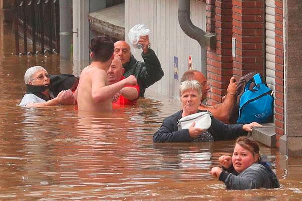 Casi 200 muertos y más de 1.000 desparecidos por las inundaciones en Alemania y Bélgica