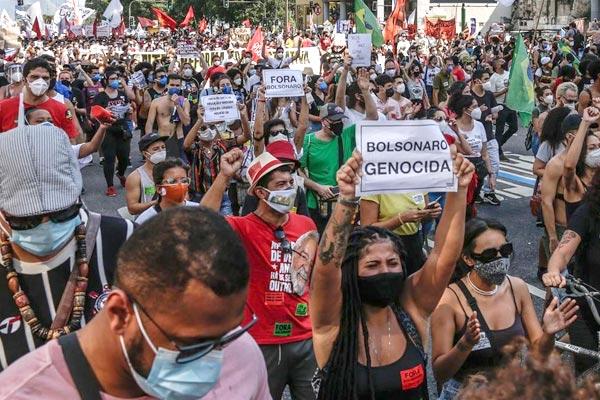 Brasil. Crisis del bolsonarismo, el regreso de Lula y movilizaciones de masas