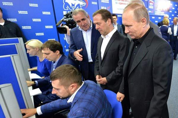 Elecciones en Rusia. Putin recurre al fraude masivo y el Partido Comunista se fortalece