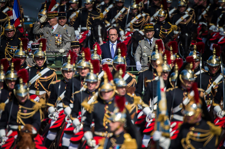 Hollande ejercito frances